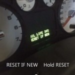 Reset oil service light Ford Freestyle, 2005 - 2007