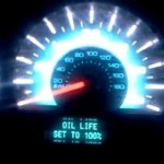 Reset oil service light Ford Fusion, indicator