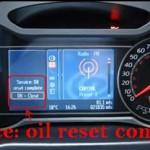 Reset oil service light Ford Mondeo MK4