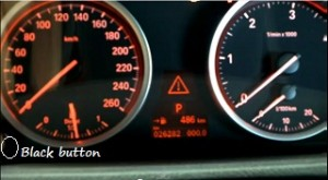 Reset service light indicator BMW X5, from years 2006 - 2012