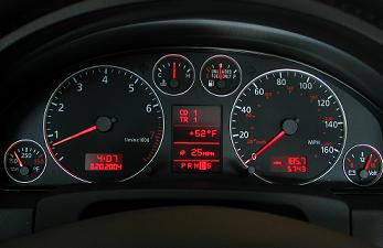 Reset service light indicator Audi A6 – Reset service light