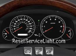 Reset oil service light Lexus GX 470