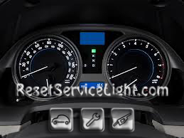 Reset oil service light Lexus IS 350