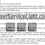 Reset oil service light Lincoln MKT manual