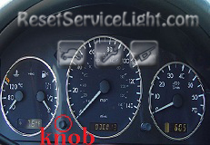 Reset service light indicator Mercedes M Class