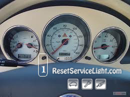 Reset service light indicator Mercedes SLK 230 Kompressor