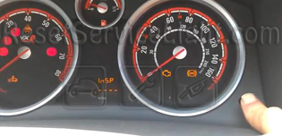 Reset InSP service light indicator Opel Astra Classic III