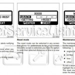 Reset oil service light Nissan Altima Coupe manual 2007-2012
