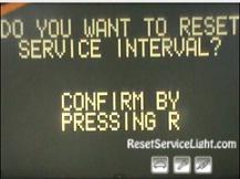 Reset service interval Mercedes CLK Class C209