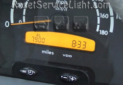Reset service light indicator Mercedes Sprinter 2004