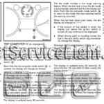 Reset service light indicator Nissan Rogue manual 2010