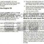 Reset oil service light Pontiac Torrent manual 2005-2009