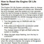 Reset oil service light Pontiac Torrent manual 2009