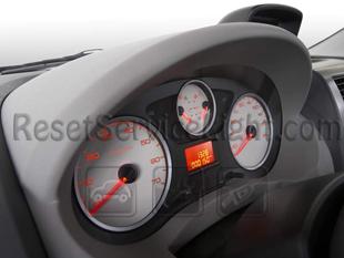 Reset service light indicator Peugeot Expert Tepee VF3V