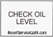 Reset oil service light Pontiac Bonneville ninth generation manual 1998