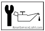 Reset oil service light Pontiac Wave