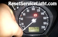 Reset maintenance service light Skoda Fabia Mk1