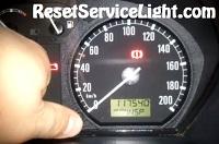 Reset service InSP indicator Skoda Fabia Mk1