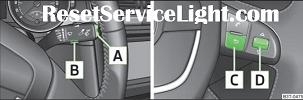 Reset service light indicator Skoda Superb 2