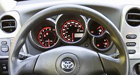 Reset oil service light indicator Toyota Matrix 1 generation E130