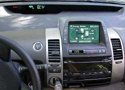 Reset oil service indicator Toyota Prius 2 generation XW20