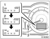 Reset odometer and two trip meters Toyota Rav4
