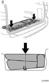 STOWING THIRD SEATS