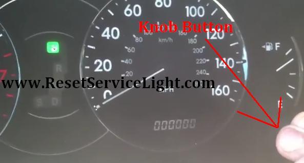 Reset Maint Reqd Service Light Toyota Avalon Third