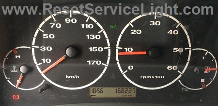 Reset service wrench light Fiat Ducato
