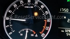 Turn off bulb failure indicator Skoda Octavia 2 Facelift