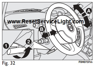 Reset trip computer Fiat Idea – Reset service light, reset