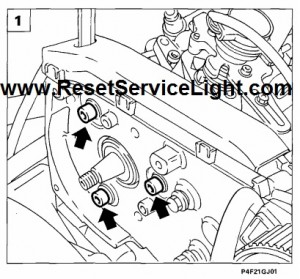 How to reset the gauge to zero Fiat Marea