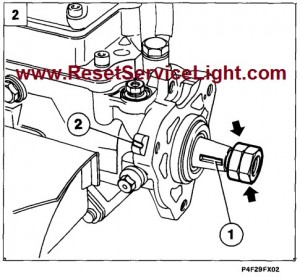 Refitting injection pump and adjusting timing Fiat Marea 1996-2007