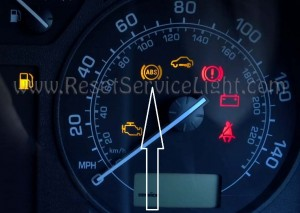 Reset ABS indicator Skoda Octavia first generation
