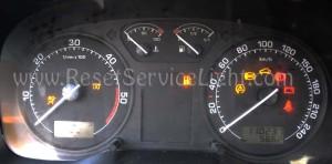 Reset SRS airbag warning light Skoda Octavia Tour