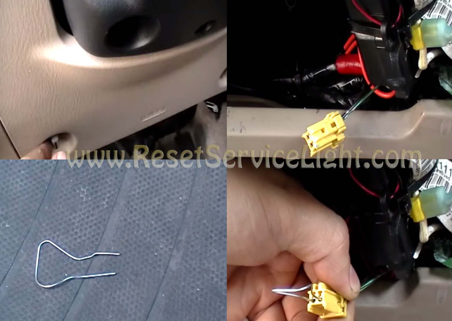 Reset SRS airbag warning light Acura CL – Reset service