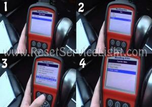 Tips to reset airbag indicator Skoda Octavia I using maxidiag elite