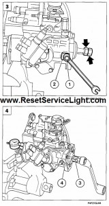 Reset service light Fiat Marea