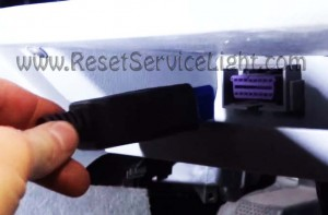 Skoda Octavia Mk1 OBD socket