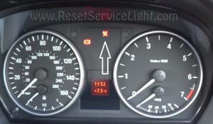 Reset MRS airbag indicator BMW 3 Series