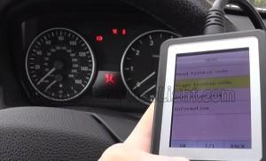 Reset airbag indicator BMW E92