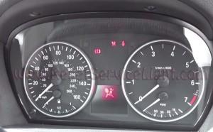 Reset air bag indicator BMW E91 3 Series