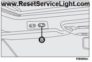 Roof closure safety system reset Fiat Multipla
