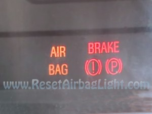 Turn off airbag lamp Ford Mustang