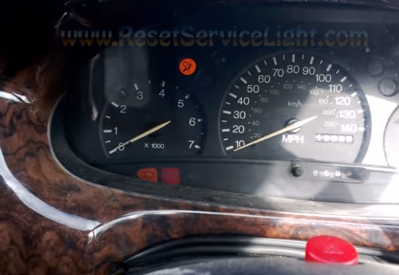 Turn off airbag indicator Ford Escort – Reset service light