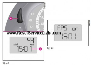Clock and CUT-OFF SWITCH ON Fiat Sedici