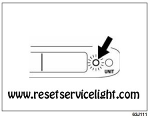Reset value of average fuel consumption Fiat Sedici