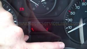 Reset service light Fiat Scudo