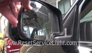 remove glass mirror from cars