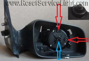 Change a mirror on a Opel Astra G Mk4